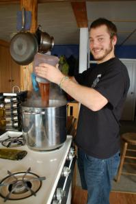 Adding the Malt Extract